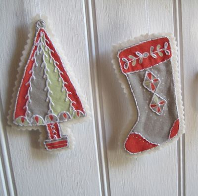 Stitchables tree stocking