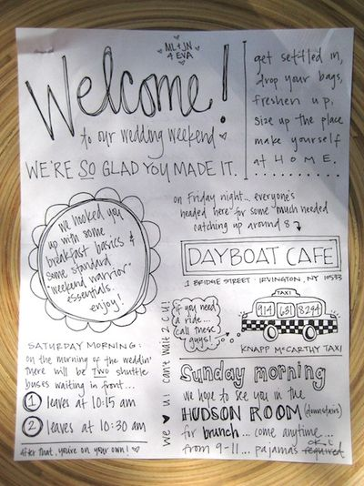 Welcomeflyer