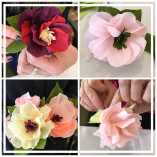 House Wren Studio Paper Flowers For Springtime
