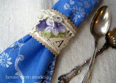 Charlotte Lyons: Napkin Ring Craft